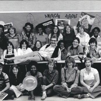 Gary at MHS3 1975