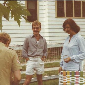 Gary with Ann Jo