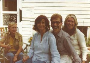 Julie, Ann, Gary, and Joyce -- teachers in the 1970s
